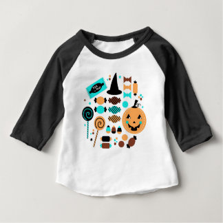 Cute artistic Witch edition Baby T-Shirt