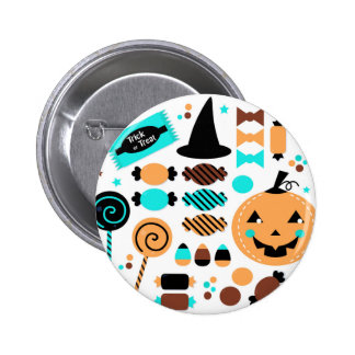Cute artistic Witch edition Pinback Button