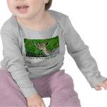 Cute as a baby deer! t-shirts