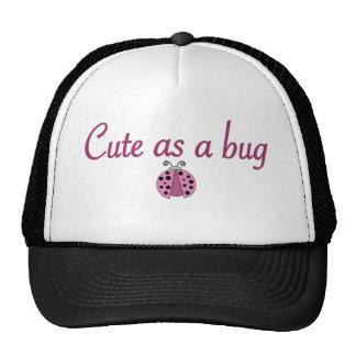 Cute as a bug 2 trucker hat