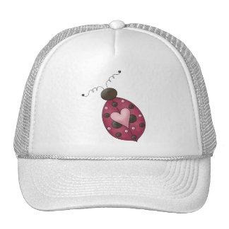 Cute as a Bug · Cerise Ladybug Trucker Hat
