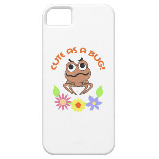 CUTE AS A BUG FLOWERS iPhone 5 COVER