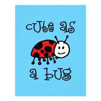 Cute as a Bug Flyer
