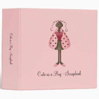Cute as a Bug · Ladybug Doll Binder