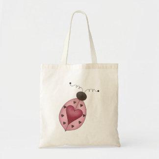 Cute as a Bug · Pink Ladybug Bag