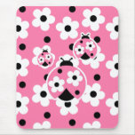 Cute As A Bug (Pink) Mouse Pad