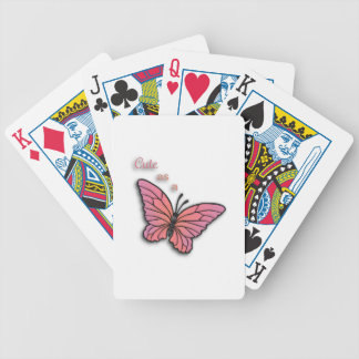 Cute As A Butterfly Card Decks