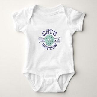 Cute as a Button Baby Bodysuit