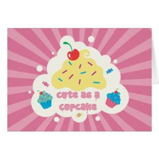 Cute As a Cupcake Card
