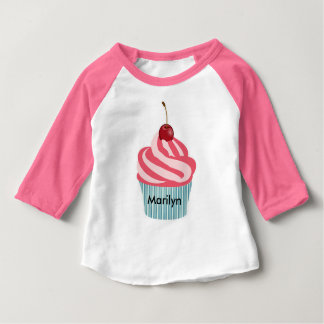 CUTE AS A CUPCAKE | PERSONALIZE ME | SWEET T-SHIRT