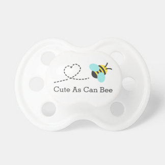 Cute as can bee, for babies pacifier