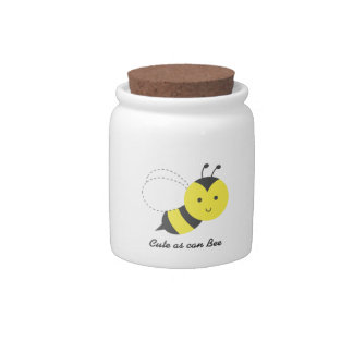 Cute as can bee, for kids candy dish