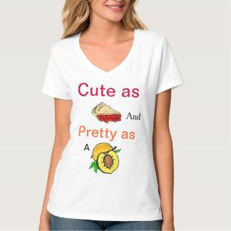Cute as Pie and Pretty as a Peach T-Shirt