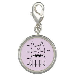 Cute ASCII Cat Charm