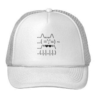 Cute ASCII Cat Hat