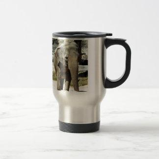 Cute Asian Elephant Travel Mug