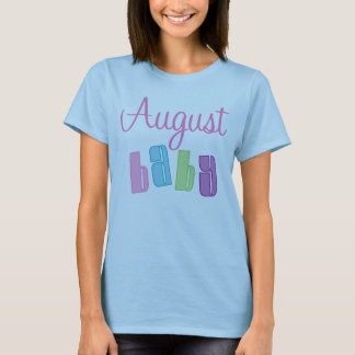 Cute August Baby Maternity T-Shirt