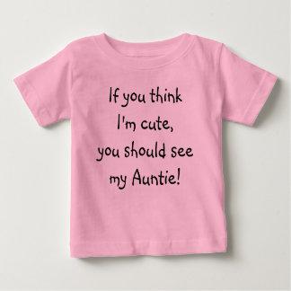 Cute Auntie Baby Tee