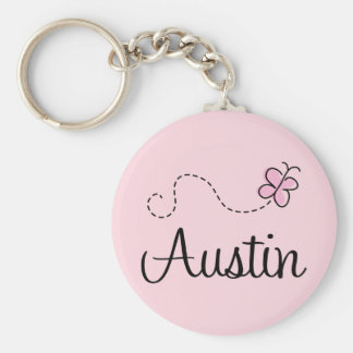 Cute Austin Texas T-shirt Keychain