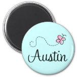 Cute Austin Texas T-shirt Refrigerator Magnet