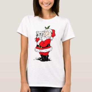 Cute Australian Christmas Santa with koala T-Shirt