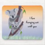 Cute Australian Koala Bear Mousepad