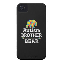 Cute Autism Awareness Brother Bear Case-Mate iPhone 4 Case