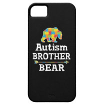 Cute Autism Awareness Brother Bear iPhone SE/5/5s Case