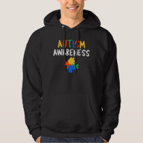 Cute Autism Awareness Colorful Hoodie