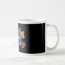 Cute Autism Dad Autistic Awareness Coffee Mug