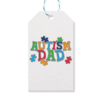 Cute Autism Dad Autistic Awareness Gift Tags