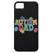 Cute Autism Dad Autistic Awareness iPhone SE/5/5s Case