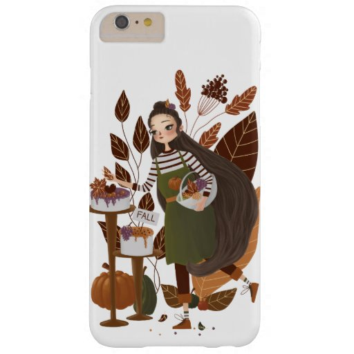 Cute Autumn Baker Barely There iPhone 6 Plus Case