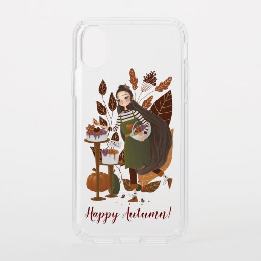 Cute Autumn Baker Speck iPhone XS Case