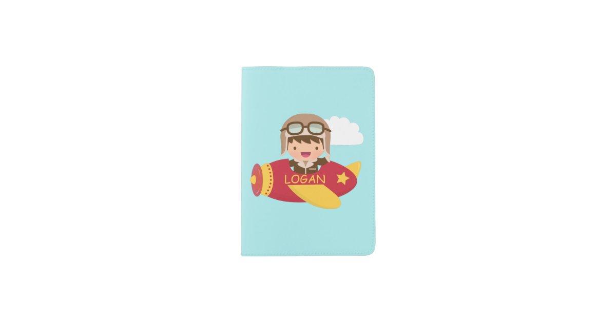 Cute Aviator Boy Airplane Adventure For Boys Passport
