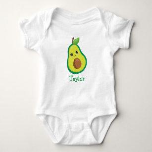 c1f9f0699 Cute Avocado Baby Bodysuit
