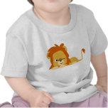 Cute Awake Cartoon Lion Children T-shirt