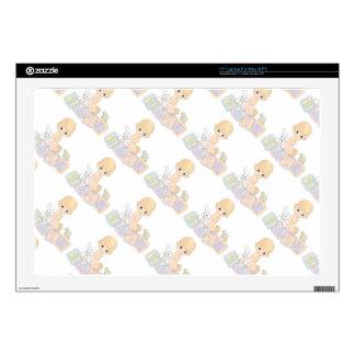 Cute Baby Alphabet Blocks Toys Cartoon Laptop Skin