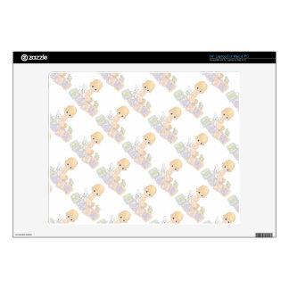 "Cute Baby Alphabet Blocks Toys Cartoon 14"" Laptop Decal"