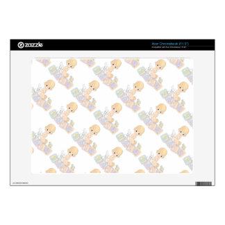 Cute Baby Alphabet Blocks Toys Cartoon Skin For Acer Chromebook