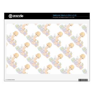 Cute Baby Alphabet Blocks Toys Cartoon Skin For Netbook