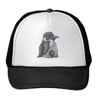 cute baby and mommy penguin hats