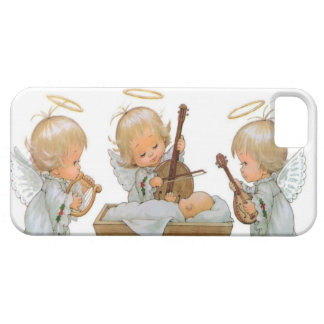 Cute Baby Angels in the Manger iPhone 5 Case