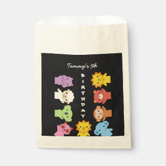 Cute Baby Animal Friends Party Bag
