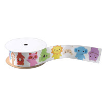 Cute Baby Animal Friends Ribbon