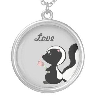 Cute Baby Animals - Skunk Necklace