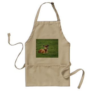 Cute Baby Antelope Adult Apron