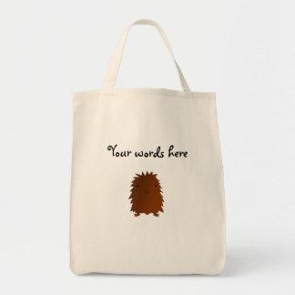 Cute baby bigfoot tote bag