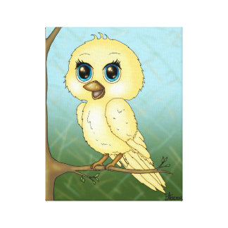 Cute Baby Bird Canvas Print