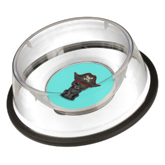 Cute Baby Black Panther Cub Pirate Bowl